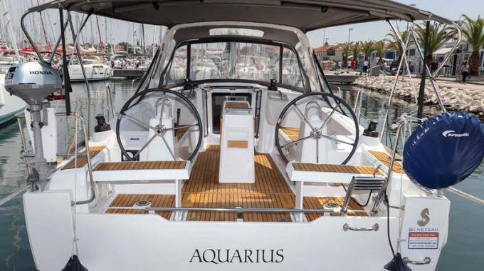 Oceanis 35.1 / Aquarius - with bowtruster (2017)