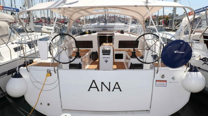 Sun Odyssey 440 / Ana  (outboard engine + wifi + towels - free of charge) (2018)